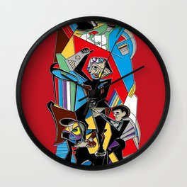Mural Edificio Viulma Wall Clock