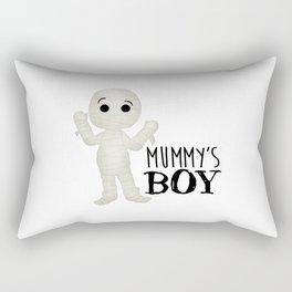 Mummy's Boy Rectangular Pillow