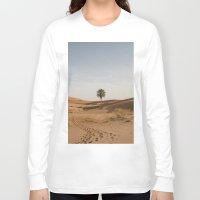 desert Long Sleeve T-shirts featuring Desert  by Gerard Puigmal