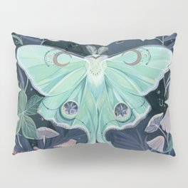 Luna Moth Pillow Sham