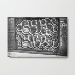 Grafitti Metal Print