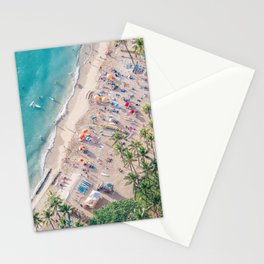 Waikiki Beach Stationery Cards