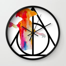 Dobby and the Deathly Hallows Wall Clock