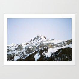 The Glacier Art Print