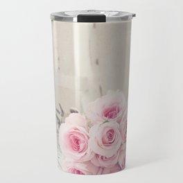 Ballerina Roses Travel Mug