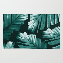 Tropical Banana Leaves Dream #2 #foliage #decor #art #society6 Rug