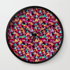 Wild Spirit Mountains Wall Clock