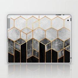 Charcoal Hexagons Laptop & iPad Skin