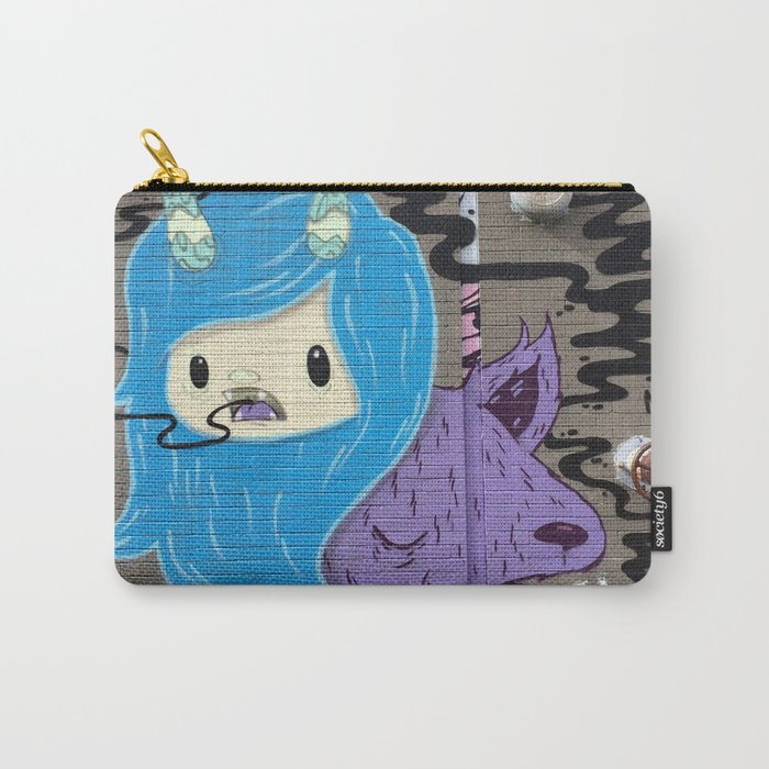 Queen of the Wolves Carry-All Pouch