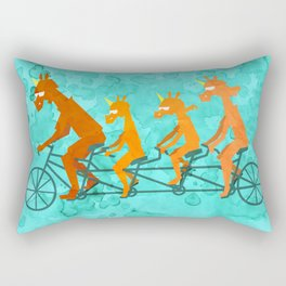 Father's Day Ride Rectangular Pillow