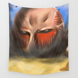 The Colossal TITAN - Shingeki no Kyojin Wall Tapestry