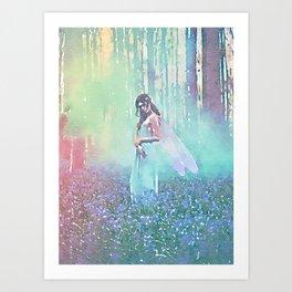 Fairy Blue Art Print