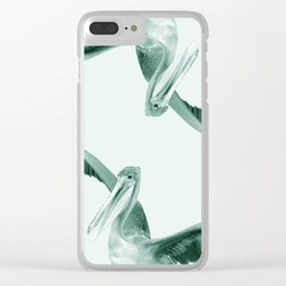 Monochrome - This big Clear iPhone Case