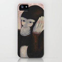 Kikazaru - 3 wise monkeys  iPhone Case