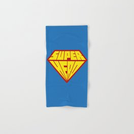Superhero Hand & Bath Towel