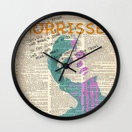 #THE SMITHS #2 Wall Clock