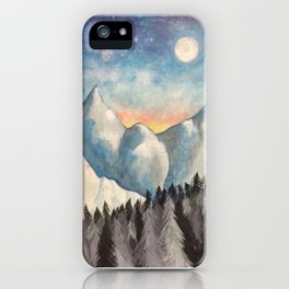 With How Sad Steps, Oh Moon iPhone Case
