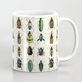 Jeweled Beetles  Coffee Mug