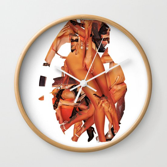 SEX BOMB!!! Wall Clock