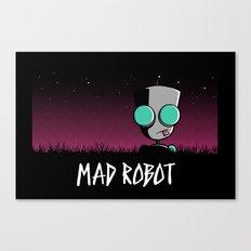 Mad Robot Canvas Print