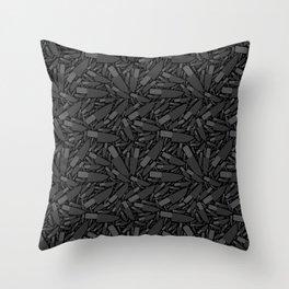 Knife Pattern Throw Pillow