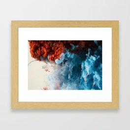 Collision II Framed Art Print