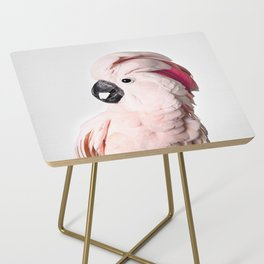 Pink Cockatoo Side Table