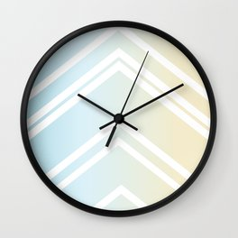 Lazy Beach Days – Two of Four Wall Clock