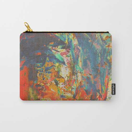 Blue and Red Wall Carry-All Pouch
