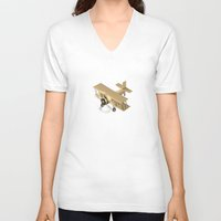 country V-neck T-shirts featuring Country by Soak