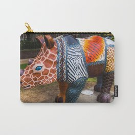 Rhino Art Carry-All Pouch