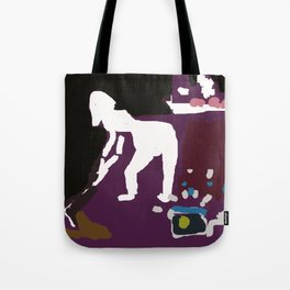 Radio with Guts Tote Bag