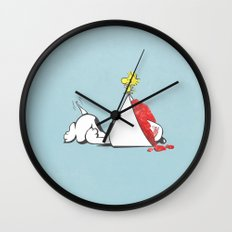sno-cone of shame Wall Clock