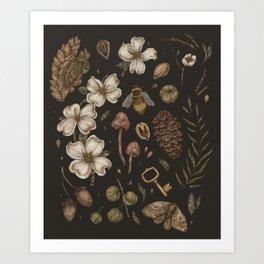 Nature Walks Art Print