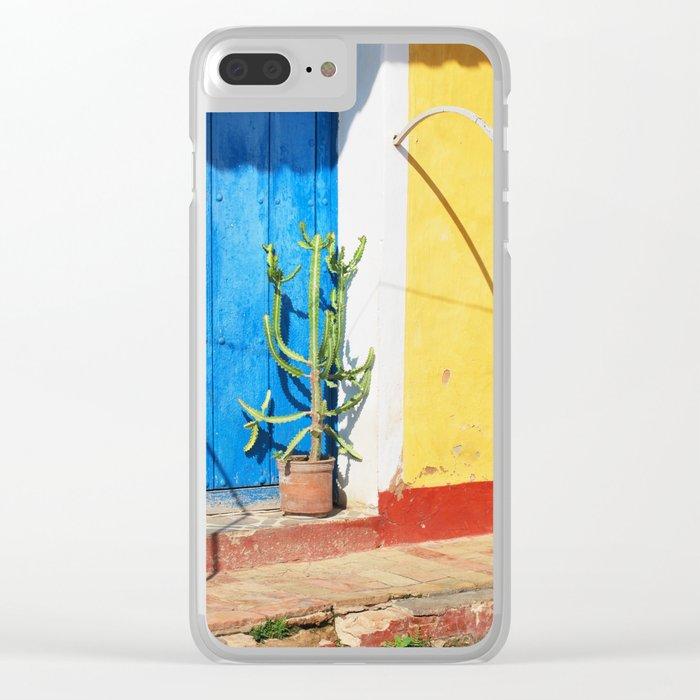 59. Cactus life, Cuba Clear iPhone Case