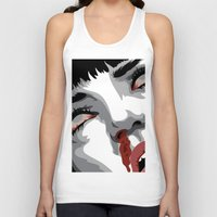 mia wallace Tank Tops featuring There goes mrs. Mia Wallace by The Headless Fish