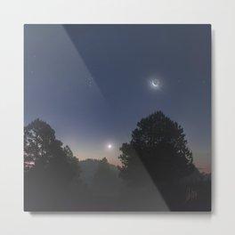 Pléyades - Venus - Luna Metal Print