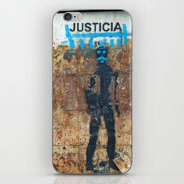 Justica iPhone Skin