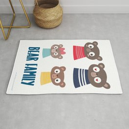 Bears family Rug