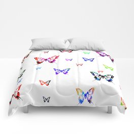 Butterflies. Comforters
