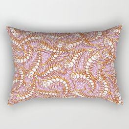 Squiggly Legs of Many a Nightmare Rectangular Pillow
