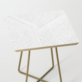 Lines Art Side Table