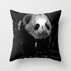 Grin, Bear it Throw Pillow