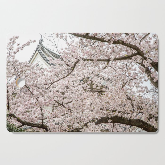 Cherry Blossoms in Osaka Japan Cutting Board