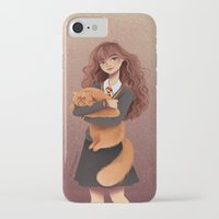 hermione iPhone & iPod Cases featuring Hermione by C. Cassandra