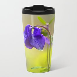 Purple Columbine In Spring Mood Travel Mug