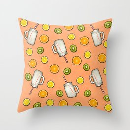 Summer fruit #society6 Throw Pillow