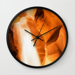 The Spirt Moves Wall Clock