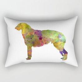 Deerhound in watercolor Rectangular Pillow