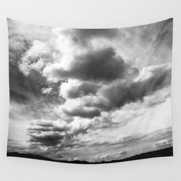 ....Cloudy Ride... Wall Tapestry